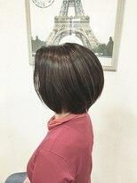 ヘアメイク スコア(Hair Make S CORE)春カラーのスッキリボブ