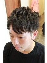 ディスパッチヘアー 甲子園店(DISPATCH HAIR)無造作パーマスタイル
