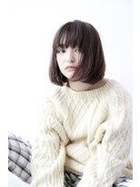 [Cafune/池袋]☆大人モードなブルージュボブ☆