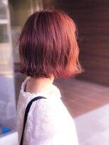 ヘアメイク シュシュ(Hair make chou chou)切りっぱなしボブ×外ハネモードボブ【chou-chou 北林夏実】