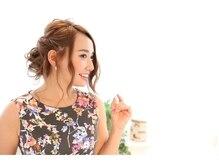 エクステ ネイル アイラッシュ サルサグレイス 津田沼店(SALSA GRACE)の雰囲気(結婚式、パーティーのヘアセットはお任せください♪)
