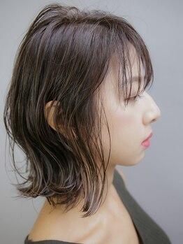 ハマユミバ(HAMAYUMIBA beauty salon)の写真/筑波大学との共同研究により生まれたmilbonの薬剤使用『生まれつきのストレートヘア』を実現する縮毛矯正!!
