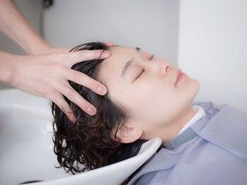 カンナ 代官山(canna)の写真/【代官山駅徒歩30秒】丈夫な髪は頭皮から。選べるスパで美髪×癒しを叶えます[canna/代官山]