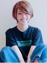 アグ ヘアー ロッソ 福島店(Agu hair rosso)《Agu hair》色っぽカジュアルショート