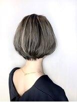 ソース ヘア アトリエ 京橋(Source hair atelier)【SOURCE】マニッシュボブ