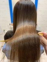 スローライフヘアーデザインアンドスパラウンジ(Slow life Hair design spa lounge)潤ツヤロング 高濃度水素質感矯正ミネコラ×水素原子バスク