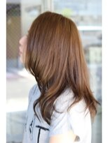 ティースタイル(hair salon t-style)透け感ナチュラル