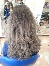 アルファレイズ ヘア ユニット(alphareiz hair unit)シルキーアッシュグラデーション