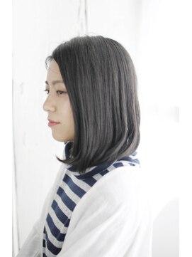 シュシュット(chouchoute)美髪黒髪着物イルミナカラーヘルシーレイヤーデジタルパーマ/005