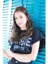 エリア(area)【area本店 西大島】センターパート 無造作 ウェーブロング☆
