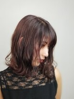 フレア ヘア サロン(FLEAR hair salon)ラフウェーブ☆透明感イルミナカラー