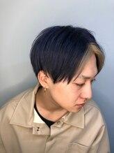 アンブル 中野店(amble)前髪/くびれ/イヤリングカラー/イメチェン/ラベンダーカラー