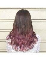 ルッツ(Lutz. hair design)ピンクグラデーション