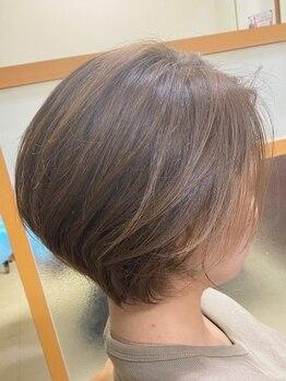 """アオイ(AOI)の写真/お客様の髪質×毛量×骨格を活かしたシルエットで360°美しく★""""あなたらしさ""""を最大限に引き出します◎"""