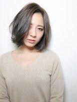 エアー ギンザ(air-GINZA)前髪長めのアッシュボブ