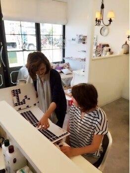 サロン ド コアフュール メランジェ(Salon de coiffure Melange)の写真/最初が肝心!!お客様一人一人としっかり向き合い、一緒にお悩みを解決していきましょう!!