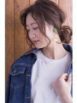 ヘアサロン リコ(hair salon lico)波ウェーブとろみアレンジ☆【hair salon lico】03-5579-9825