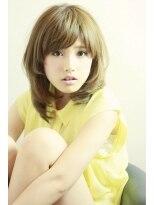 ミンクス 原宿店(MINX)【似合わせカット】美人髪うるつやストレート×ブルージュ