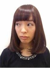 ヒカ ヘアーデザイン(Hika hair design)さらつやセミディー