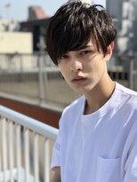 *Miik.*アッシュブラック×王道マッシュ