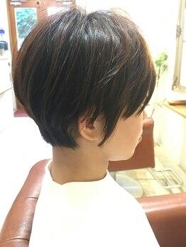 リール ヘアーアンドカンパニー(Rire Hair&Co.)の写真/スタイリングのしやすい、あなたに一番似合うショートヘアが《リールヘアー》で手に入る♪