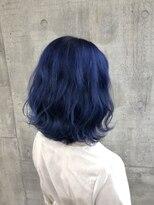 シャチュー 渋谷本店(SHACHU)〈ブルーカラー〉色落ちがグレーに2度楽しいカラー