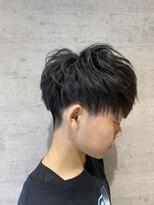 レザボア ヘアーアンドビューティー ハイブ店(reservoir Hair&Beauty Haibe)刈り上げマッシュ