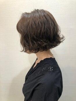 """ナカオコアフュール(NAKAO COIFFURE)の写真/豊富な種類のパーマ液であなたの""""なりたい""""に合わせたスタイルをご提案!"""