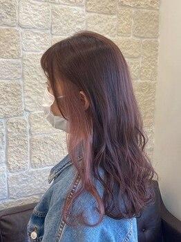 ヴァン カウンシル 川口店(VAN COUNCIL)の写真/ハイライト/イヤリング/Wカラー幅広く対応♪白髪を馴染ませたい!垢抜けたい!そんなお悩みはカラーで解決◎