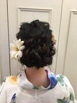 スーパーロング 浴衣まとめ髪(7)