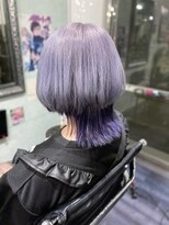 ミミック (mimic)dark purple × purple silver wolf cut TRICKstyle!