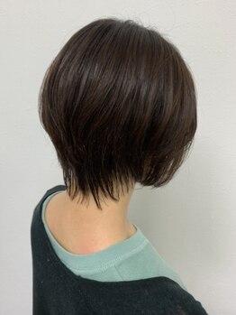 ハク(hair salon haku)の写真/地毛かのようなナチュラルな仕上がり・指通りが叶う【haku】の縮毛*《カット+ナチュラル縮毛¥12500~♪》