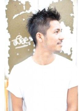 クラス青山(CLASS AOYAMA)[CLASS AOYAMA] メンズ 髪型 ソフトモヒカン×くせ毛カール