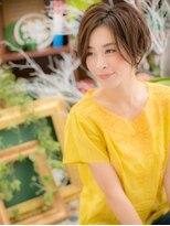 *+COVER HAIR+*…前下がりでちょい甘め☆のモダンショートc