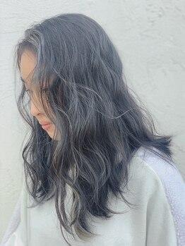ルミエル Lumiereの写真/【月曜OK】独自のカラー技術で色持ち・発色・ダメージレス。マニキュア使用のビビッドカラーがオシャレ◎