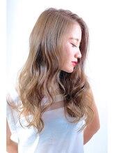 ノイエ (Hair salon Noie)ランダムカール×透明感×スモーキーアッシュ