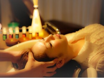 リシェル 熱田 日比野店(RECIEL)の写真/《日比野駅》世界のスパを楽しめる、特別なヘッドスパをご用意♪癒しのスパタイムで艶めく美髪へ導きます。