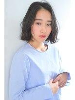 ボヌール 西梅田店(Bonheur)【女性stylist杉崎】オトナボブスタイル