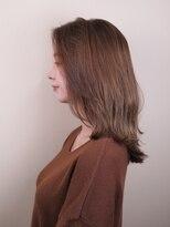 ☆簡単☆ストレートスタイル☆艶髪セミロング☆