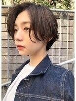 レア 渋谷(Le'a)【染谷直樹】大人可愛い横顔美人エッジショート☆