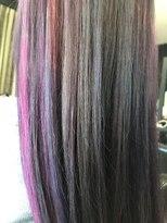 ヘアデザイン ダブル(hair design Double)さまざまな色味を使ったユニコーンカラー