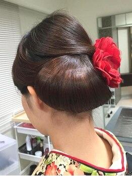 ボウクレア(beau clair)の写真/【五反田駅近/早朝予約OK】崩れないセットでパーティも安心!あなたに似合うヘアセットで1日を輝かせます☆