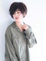 ローネス(LONESS)【LONESS】小顔にみえる☆シンプルショート