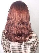 ソース ヘア アトリエ 京橋(Source hair atelier)【SOURCE】オールドローズレッド