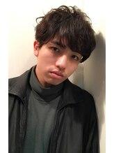 ムジカ ヘア ラウンジ(Musica HAIR ROUNGE)【Musica-HAIRRONGE-】黒髪グランジマッシュ