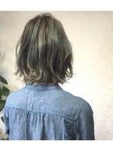 モグヘアー(mog hair)ブルーアッシュ