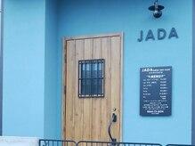 ジャダ レディース ヘアルーム(JADA ladies hair room)の雰囲気(青い壁が目印です♪)