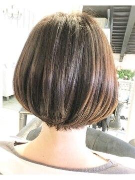 ヘアー アトリエ エゴン(hair atelier EGON)グラボブ