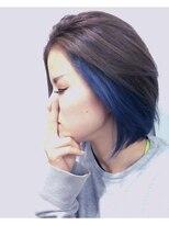 Blueインナーカラー