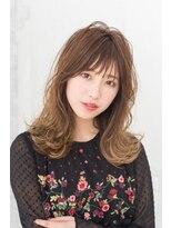 ヘアーサロン リアン 鴻巣店(hair salon Rien)セミディー×ゆるふわ×グラデーションカラー☆